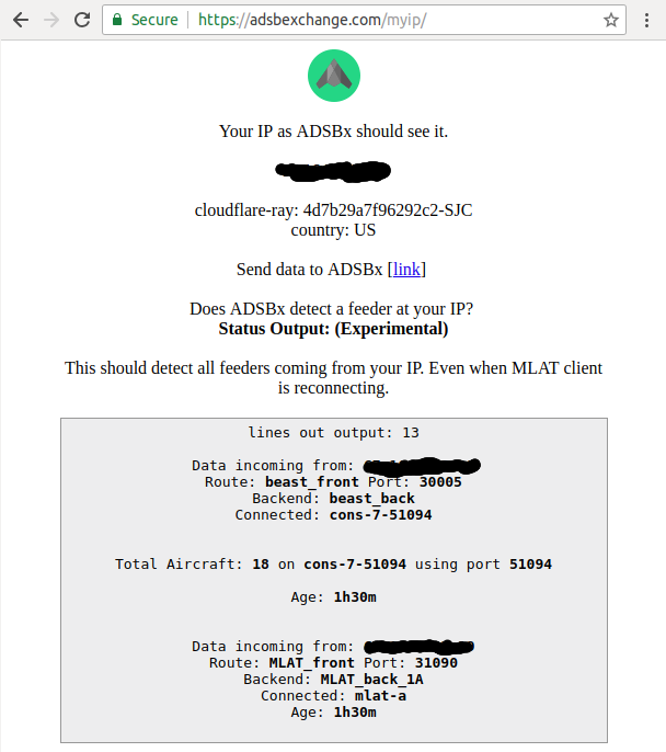 Setting Up an ADSB-Exchange Feeder | Electronics etc…