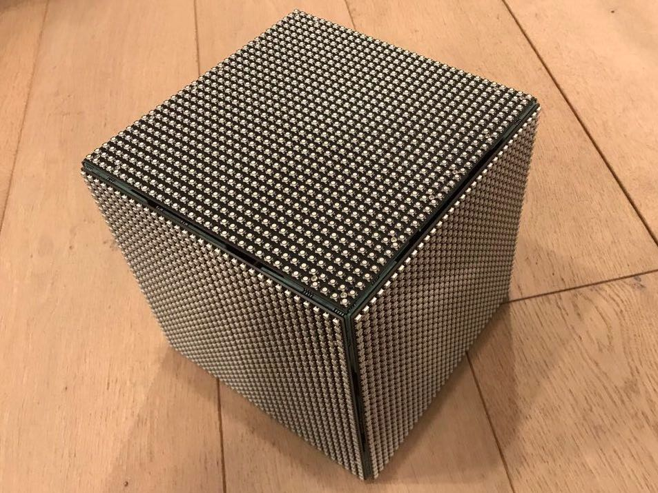Cube fully assembled