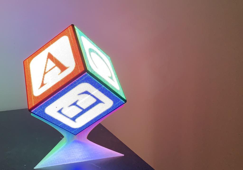 kbob's LED cube