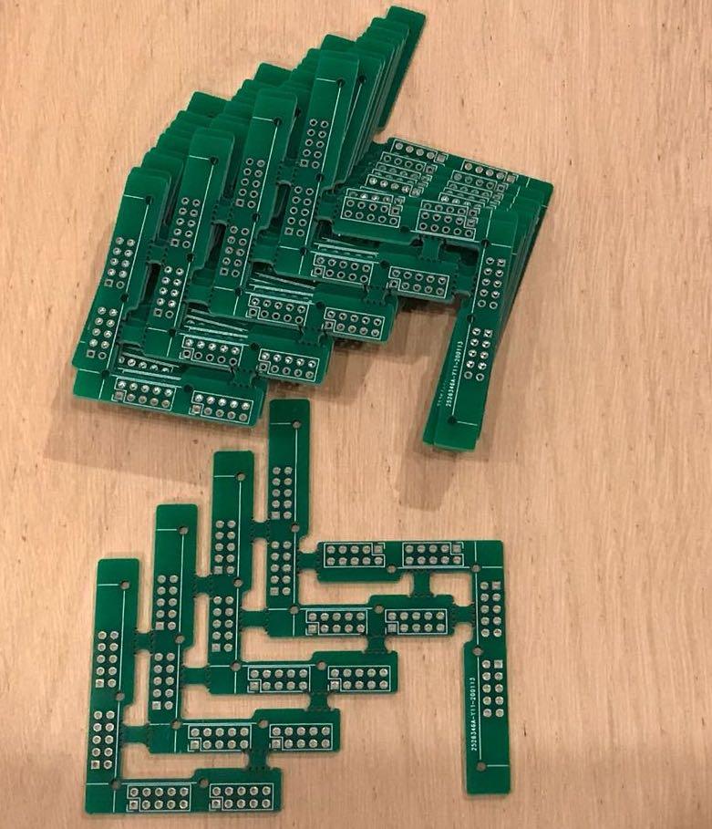 PCB corners produced