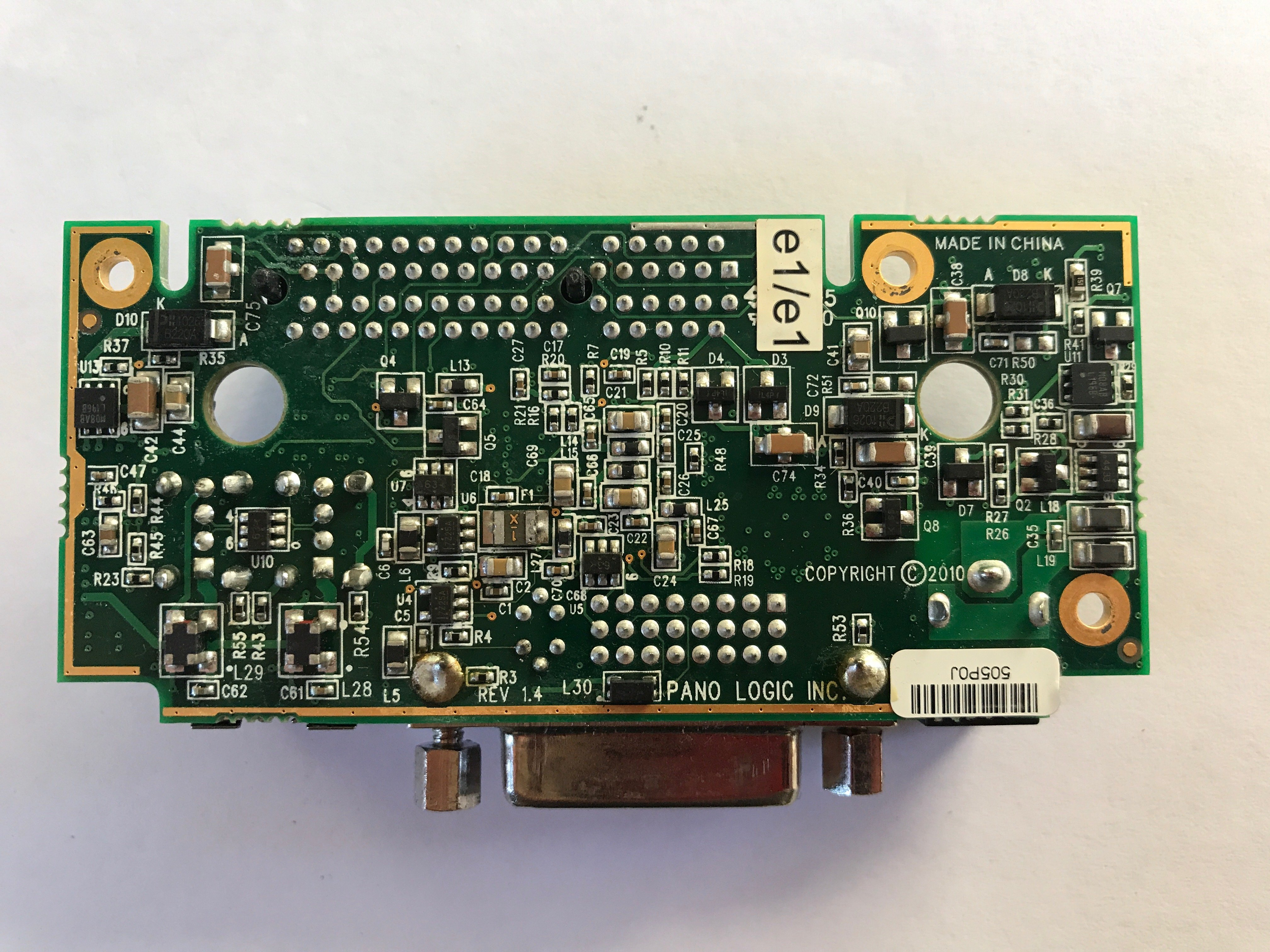 Pano Logic G2 Auxiliary PCB Bottom