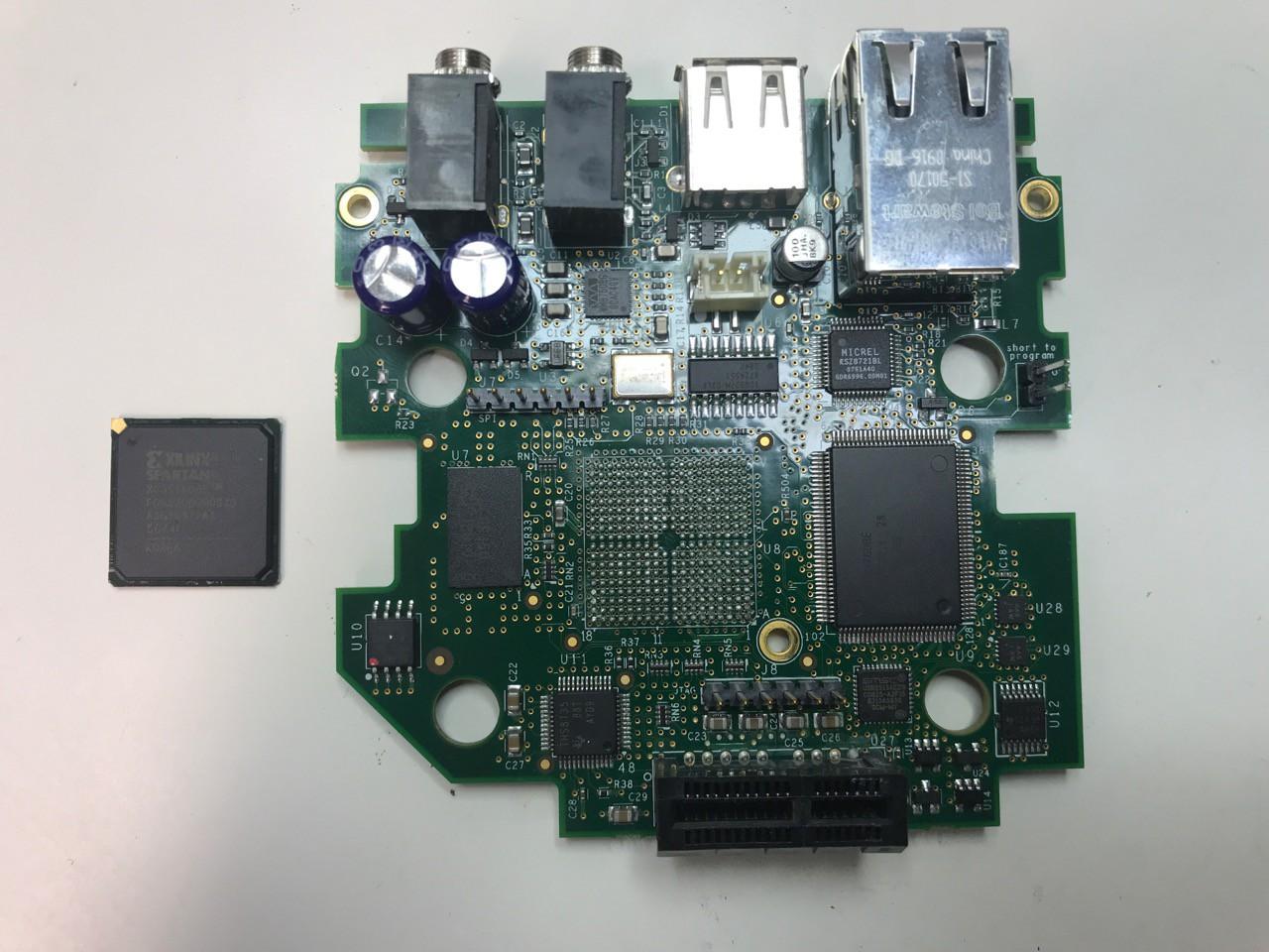 FPGA Desoldered