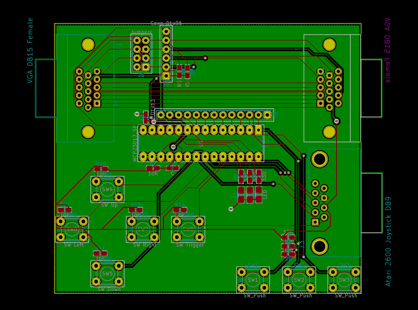PCB Layout Rev 1