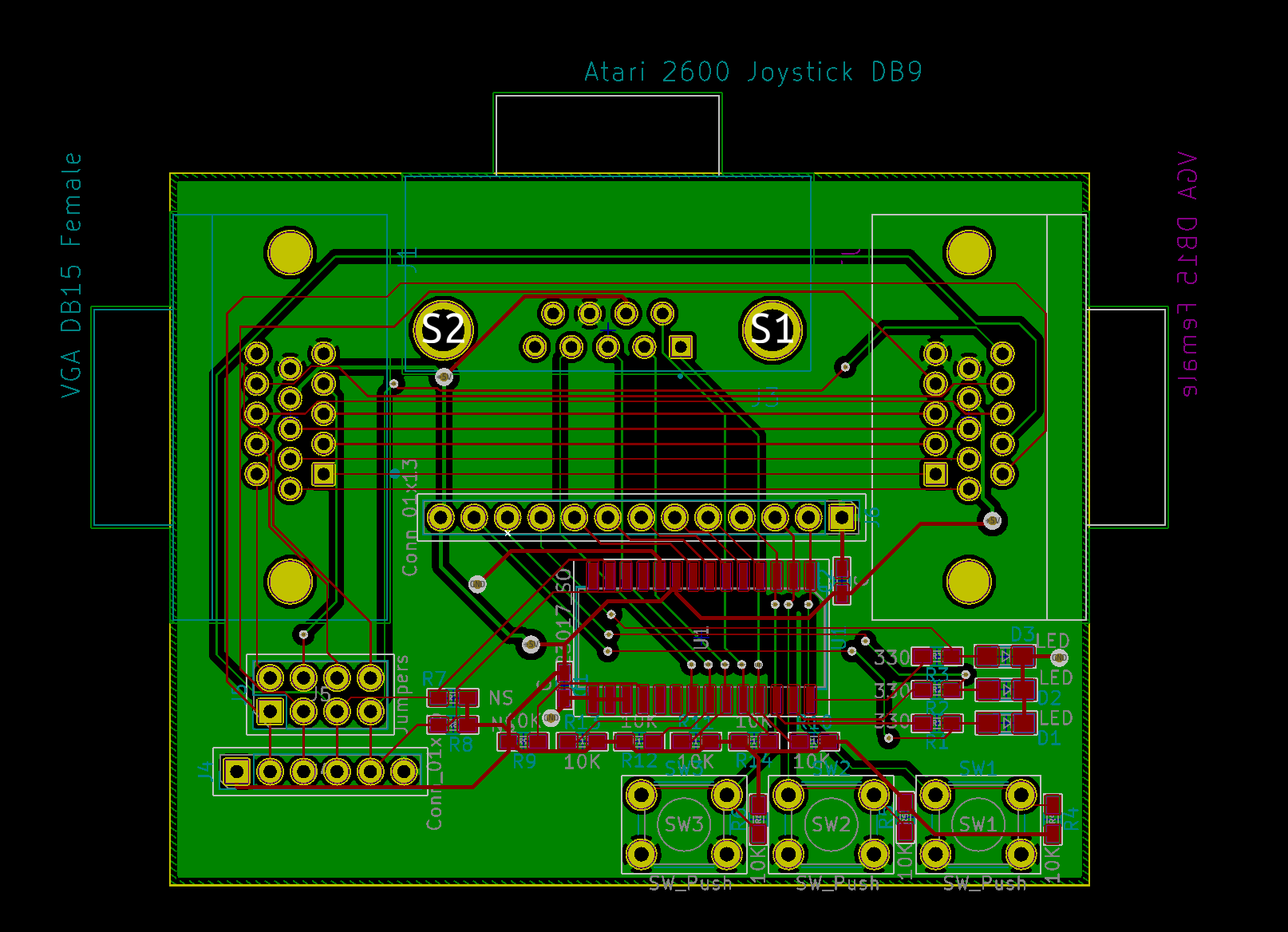 PCB Layout Rev 2